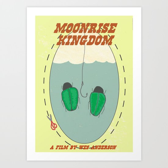 "Moonrise Kingdom ""Bug Earrings"" Art Print"