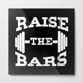 Weight Lifting For Fitness Athletes Metal Print