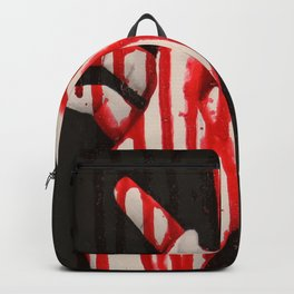 the red rain Backpack