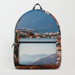 Leros Island Landscape Backpack