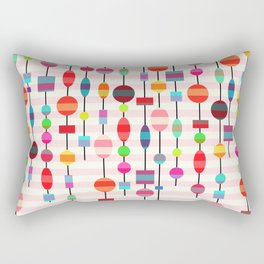 Colorful pearls Rectangular Pillow