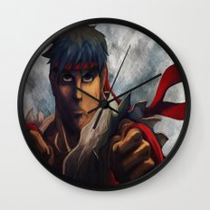 Ryu Focused  Wall Clock