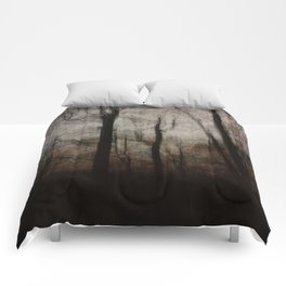 Darkness in the Forest Comforters