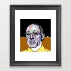 Gus Fring BREAKING BAD Framed Art Print
