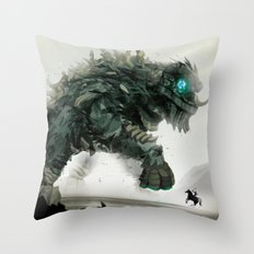 Looming challenge Throw Pillow