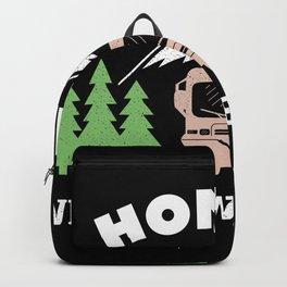 Funny Gift Motorhome & Camper van Owner Backpack