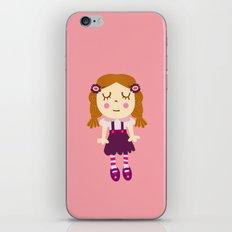 sleep doll iPhone & iPod Skin