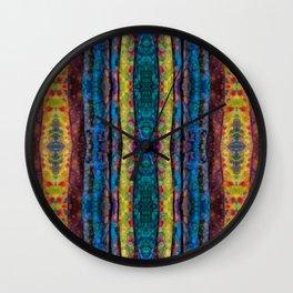 Bubble Dot Folds Wall Clock