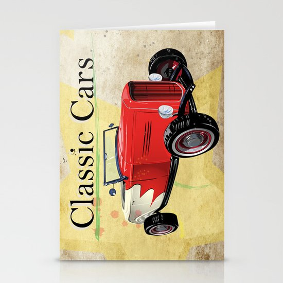 Classic Cars Stationery Cards