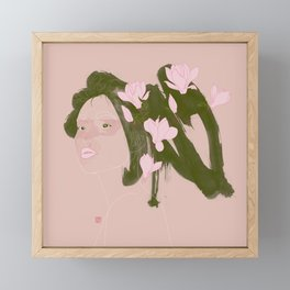 Magnolia (Mulan) Framed Mini Art Print