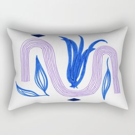 abstract tulip Rectangular Pillow