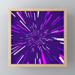 Space Trip 2 Framed Mini Art Print
