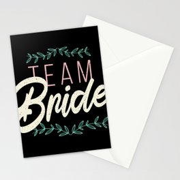 Team Bride Stationery Cards