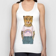 Little Cheetah Unisex Tank Top