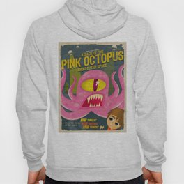 Pink octopus from outer space Hoody
