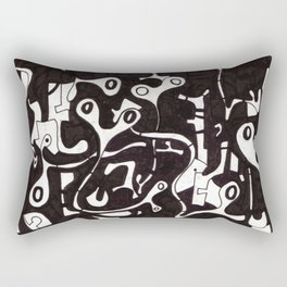 Syncopated Pandemonium Rectangular Pillow
