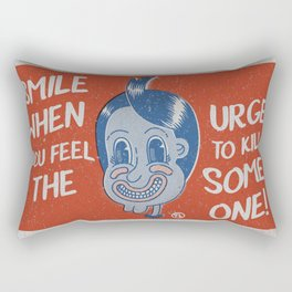 Hater Vintage Kid Rectangular Pillow