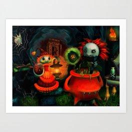 Potion Makers Art Print