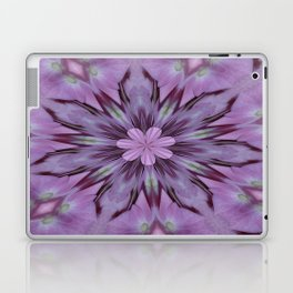 Floral Abstract Of Pink Hydrangea Flowers Laptop & iPad Skin