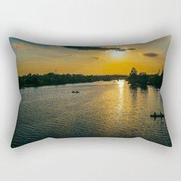 Sunset at Austin Townlake Rectangular Pillow