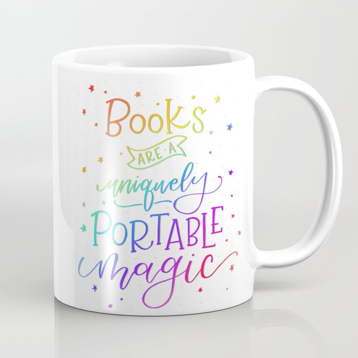 Books are Rainbow Magic Coffee Mug