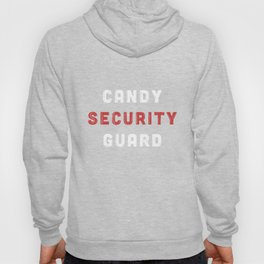 Candy Security Guard TShirt Halloween Costumes for Parents Hoody