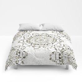 Watercolor Doily - Katrina Niswander Comforters