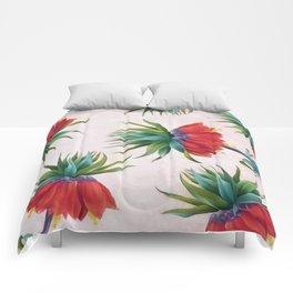 Crown imperial flowers Comforters