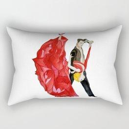 Tango (Watercolour) Rectangular Pillow