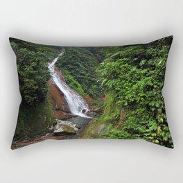 Peruvian Waterfall I Rectangular Pillow