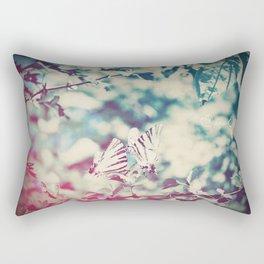 Butterfly motions Rectangular Pillow