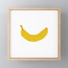 Banana Framed Mini Art Print