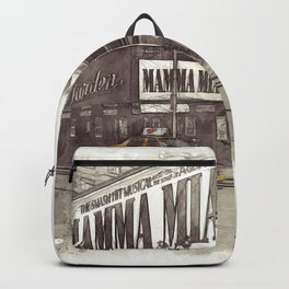 NYC Yellow Cabs Musical - SKETCH Backpack
