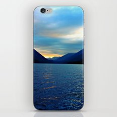 Floating in the Lake  iPhone & iPod Skin