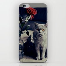 Diesel with rose iPhone & iPod Skin