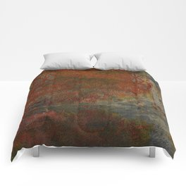 Eroded Frame Comforters