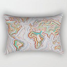 World At Peace Rectangular Pillow