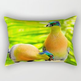"""Banana Split"" by ICA PAVON Rectangular Pillow"