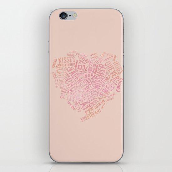 Kisses and Love iPhone & iPod Skin