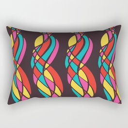 Twisted Color Rectangular Pillow
