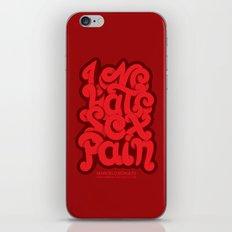Love - Hate - Sex - Pain iPhone & iPod Skin