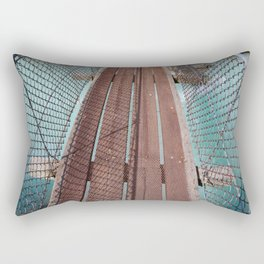 cheakamus river suspension bridge, 2017 Rectangular Pillow