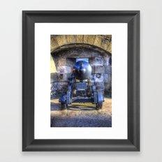 Cannon Edinburgh Castle Framed Art Print