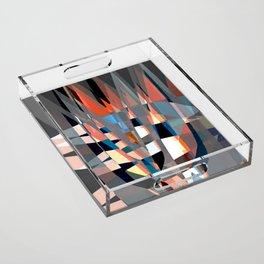 Tulips Fire II Acrylic Tray