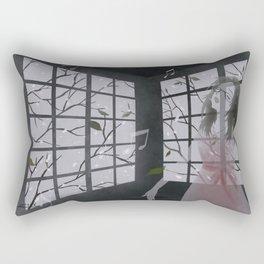 raise your voice Rectangular Pillow