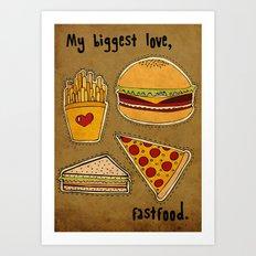 My Biggest Love Art Print