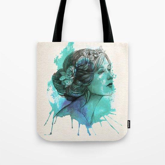 Watercolor elegence Tote Bag