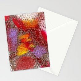 Grey mosaics Stationery Cards