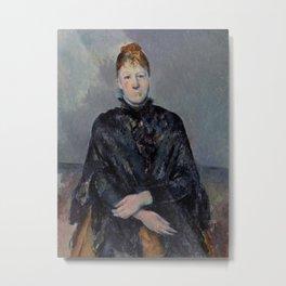 Madame Cézanne Metal Print