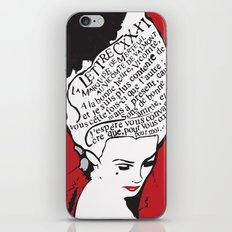 La Marquise de Merteuil - Dangerous Liaisons iPhone & iPod Skin